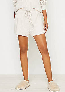 LOFT Ribbed Pajama Shorts