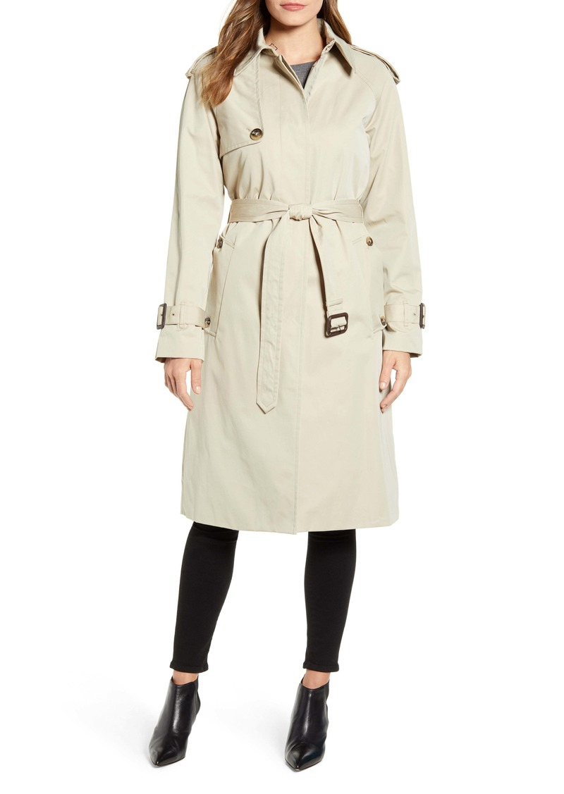 London Fog Heritage Water Repellent Trench Coat