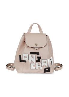 Longchamp Logo Backpack