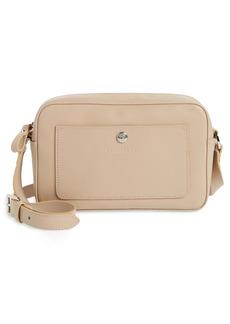 Longchamp Le Foulonné Rectangular Leather Crossbody Bag