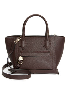 Longchamp Small Mailbox Leather Top Handle Bag