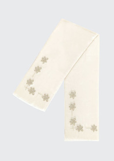 Loro Piana Narcissus Embroidered Stole