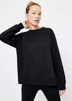 Lou & Grey Fleeceback Sweatshirt