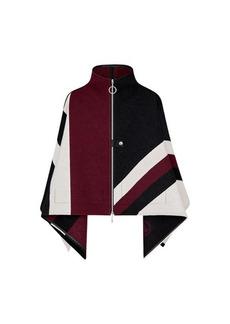 Louis Vuitton Graphic LV Jacquard Zipped Cape