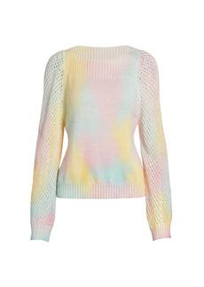 LoveShackFancy Chunky Knits Rosie Baby Alpaca-Blend Pullover Sweater