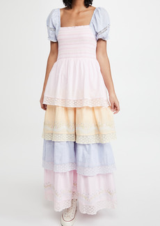 LoveShackFancy Capella Dress