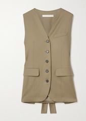 Low Classic Wool-twill Vest