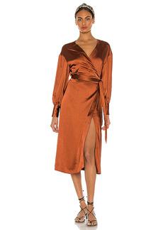 LPA Wrap Dress