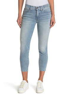 Lucky Brand Ava Mid Rise Cropped Skinny Jeans