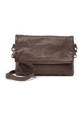 Lucky Brand Caro Leather Flap Crossbody Bag