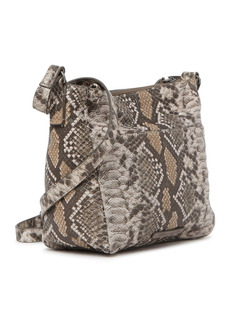 Lucky Brand Eddo Snake-Print Leather Crossbody Bag