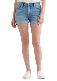 Lucky Brand Ava Roll Cuff Denim Shorts (Chinook)