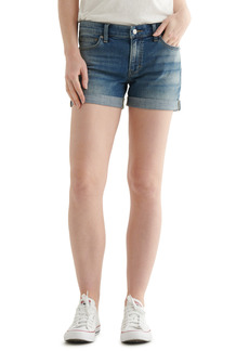 Lucky Brand Ava Roll Cuff Denim Shorts (Typhoon)
