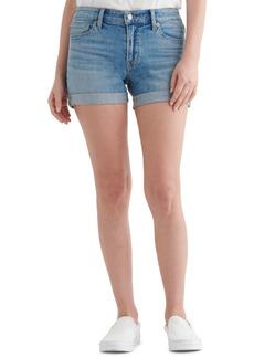 Lucky Brand Ava Rolled-Hem Denim Shorts
