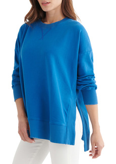 Lucky Brand Chill Crewneck Cotton Sweatshirt