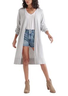 Lucky Brand Cloud Jersey Long Cardigan