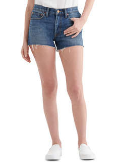 Lucky Brand Cut Off Denim Shorts (Thunder)