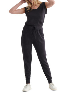 Lucky Brand Easy Breezy Sleeveless Cotton & Modal Knit Jumpsuit