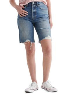 Lucky Brand High Rise Bermuda Shorts
