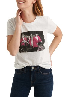 Lucky Brand Pink Ladies Graphic Tee