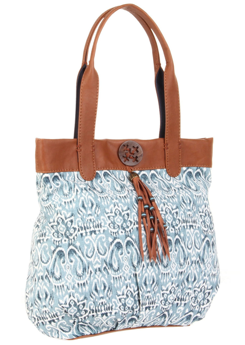 Lucky Brand Printed Fabric Trippin Out Tote
