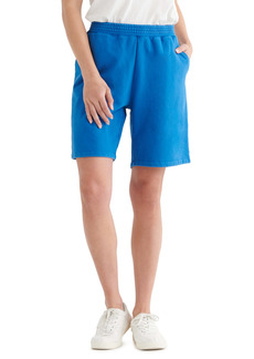 Lucky Brand Relaxed Cotton Fleece Shorts