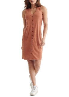 Lucky Brand Sandwash Rib Tank Dress