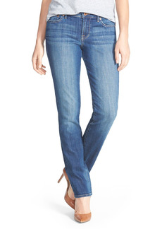 Lucky Brand 'Sweet 'n' Straight' Stretch Straight Leg Jeans (Tanzanite)
