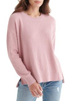 Lucky Brand Textured Cotton Sweater