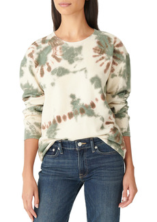 Lucky Brand Tie Dye Cotton Sweatshirt
