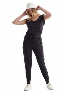 Lucky Brand Women's Sleeveless Scoop Neck Knit Jumpsuit