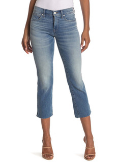 Lucky Brand Mid Rise Ava Mini Bootcut Cropped Jeans