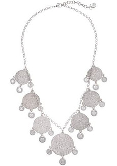 Lucky Brand Modern Metal Layer Statement Necklace
