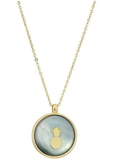 Lucky Brand Pineapple Pendant Necklace