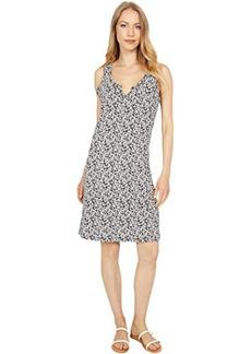 Lucky Brand Scallop Notch Midi Dress