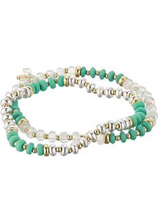 Lucky Brand Turquoise Beaded Layer Bracelets