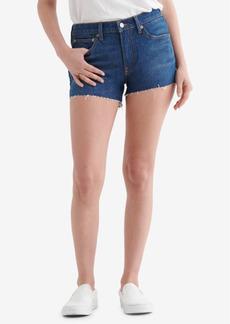 Lucky Brand Women's Mid Rise Cut Off Shorts