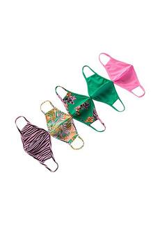 Maaji Emerald Rainforest Calm 5-Pack Masks
