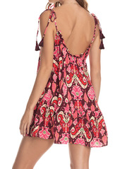 Maaji Magnolia Cover-Up Minidress