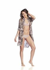 Maaji Women's Moonstone Convertible Sleeve Shirt Dress