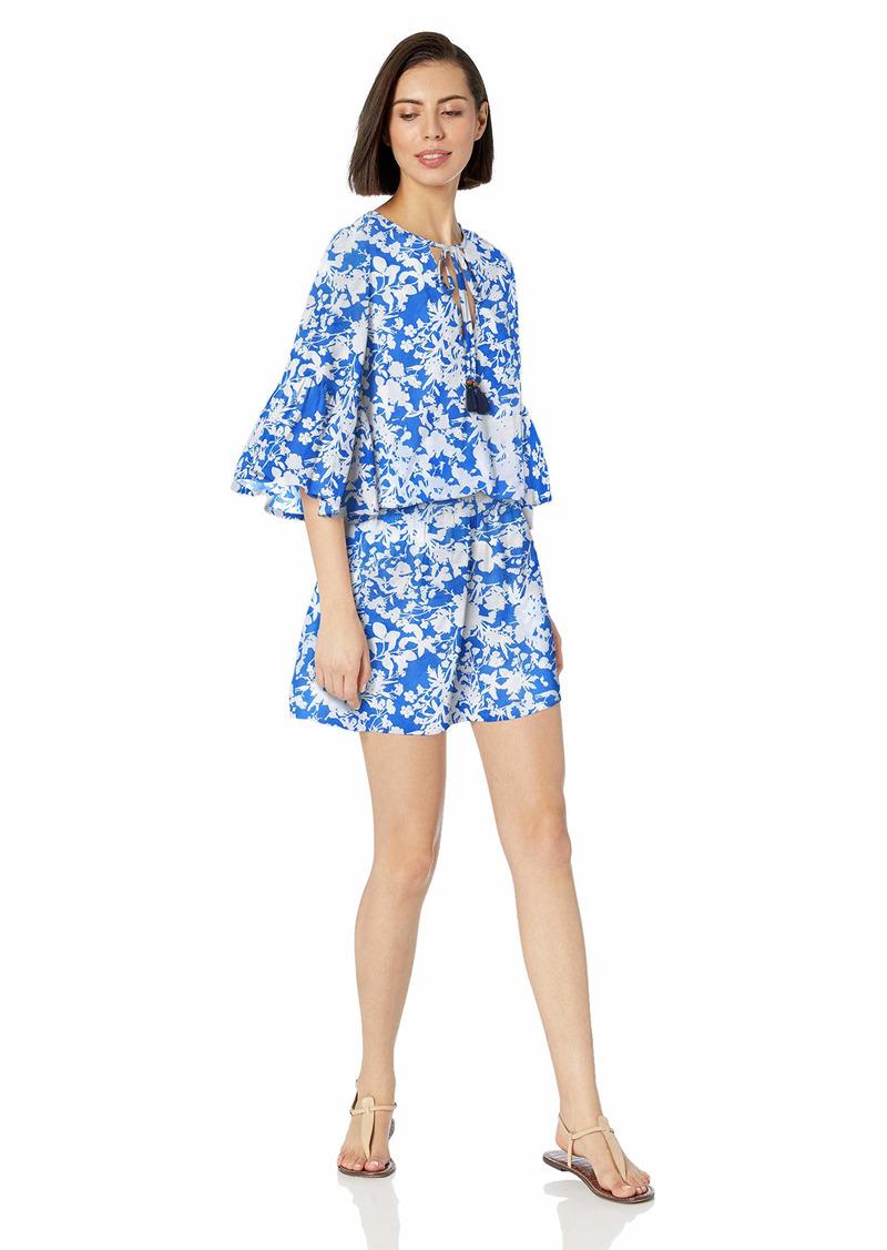 Maaji Women's Sugar Swizzle Pull On Cover Up with Elastic Waist Dress