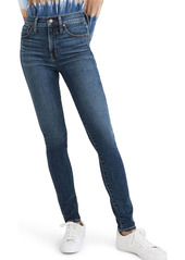 Madewell 10-Inch High Rise Ankle Skinny Jeans (Cordell)