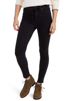 Madewell 10-Inch High Waist Ankle Skinny Jeans (Starkey)