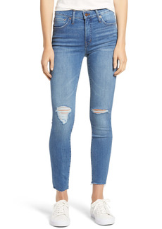 Madewell 9-Inch Mid-Rise Skinny Jeans (Bellachase Wash)