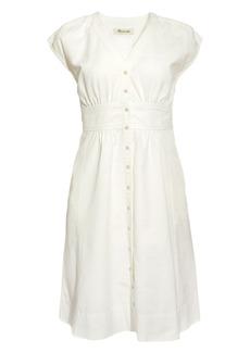 Madewell Cap Sleeve Midi Dress
