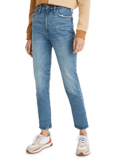 Madewell Classic High Waist Straight Leg Jeans (Nearwood)