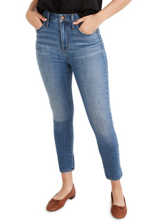 Madewell Curvy High Waist Crop Skinny Jeans (Lander Wash)
