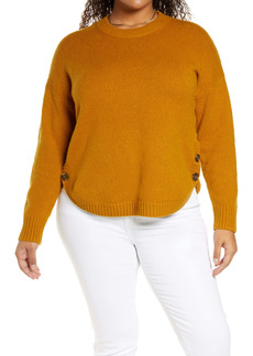 Madewell Demi Side Button Sweater (Plus Size)