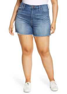 Madewell High Rise Cuffed Denim Shorts (Glen Oaks)