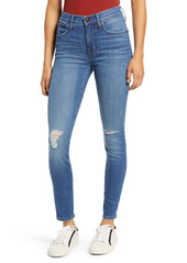 Madewell High Waist Ankle Skinny Jeans (Wilcrest Wash)